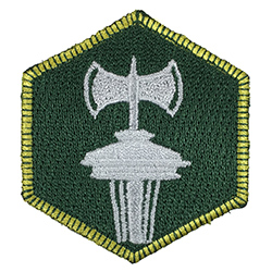 Seattle Away Merrit Badge