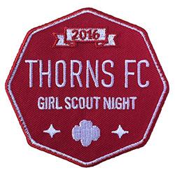 Thorns Girl Scout Night 2016