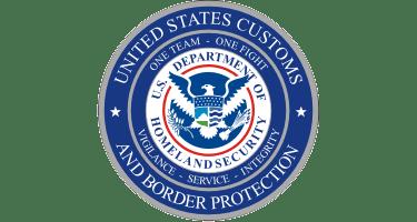US Customs and Border Patrol seal