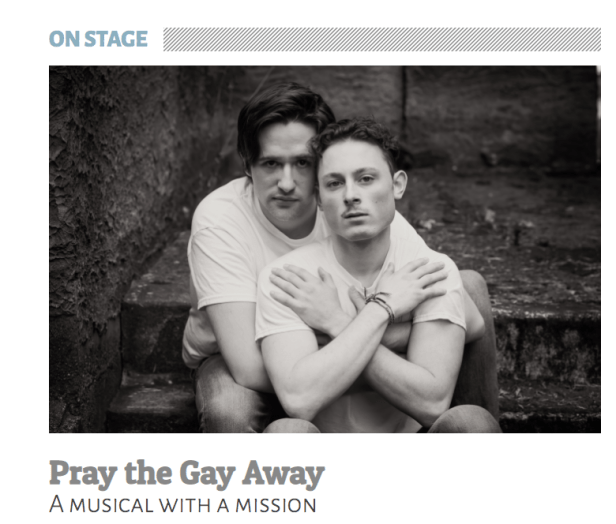 Cascadia Weekly Pray the Gay Away play