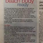 Daily Echo April 2014 Gen Levrant Personal Trainer Southampton