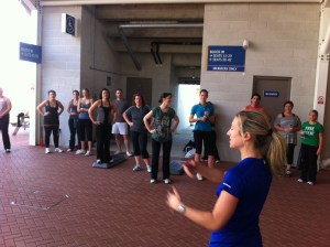 Boot camp Southampton Personal Trainer Gen Preece