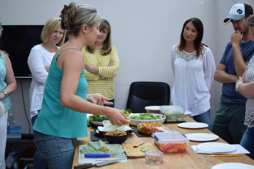 Nourish at Home Southampton Personal trainer Gen Preece Boot Camp