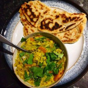 Gluten free curry and naan: Southampton personal trainer Gen Preece boot camp