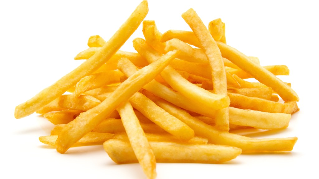 Are Cheap French Fries Actually a Luxury Item?