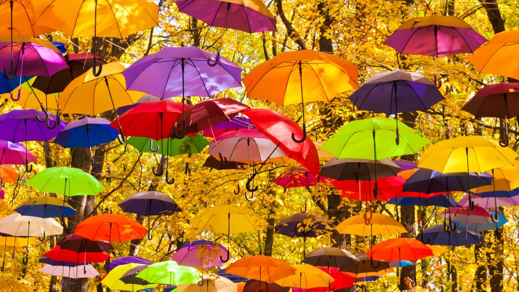 """Smart umbrella or """"smart"""" umbrella?"""