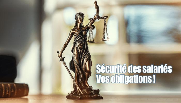réglementation PTI securité salarié obligations employeur