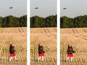 Triple-drone-enfant