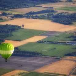 Vol de concert pour nos deux montgolfières