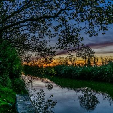 Le long du canal de la Bridoire