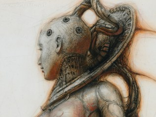 Detail if Gynoid-Monument IV, 2013, Peter Gric
