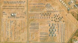 Tucson cimetière d'avions USA