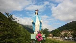 Vierge sur le Pont de Mayres