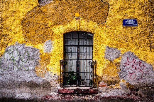 Calle del centro del Mexico
