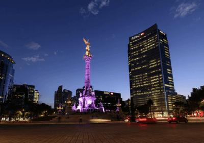 el angel ciudad de méxico