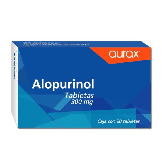 Alopurinol Aurax tabletas