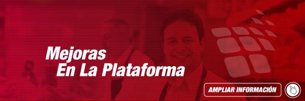 Mejoras en la Plataforma PTM para Agosto