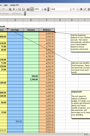 Track Monthly Expenses and have Personal Finance Success