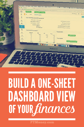 Do you need help managing your finances and getting organized? Take a look at PT's dashboard view of his finances. It's a quick easy way to keep track of everything going on with income, bills, outstanding debt, and all online accounts