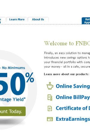 FNBO Direct Review: High Interest Online Savings Account