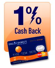 Capital One 360: 1% Cash Back