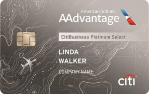 Citi AAdvantage Business Platinumn Select MasterCard