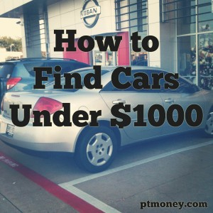 How To Find The Absolute Best Cars Under 1 000 Pt Money
