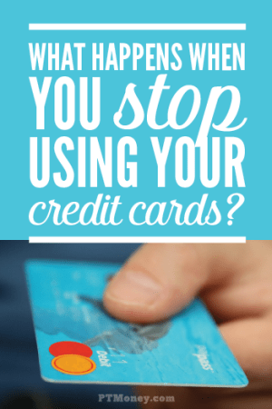 Interesting Findings When You Stop Using Your Credit Cards