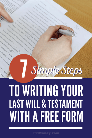 7 Steps To Writing Your Last Will Amp Testament Pt Money