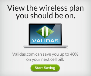 Validas Cell Phone Plan Service