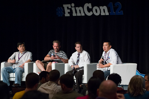 Jim Wang Panel at FinCon12
