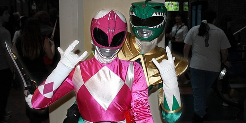 Pink Power Ranger
