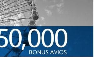 British Airways Visa Signature Card – 50,000 Avios Bonus
