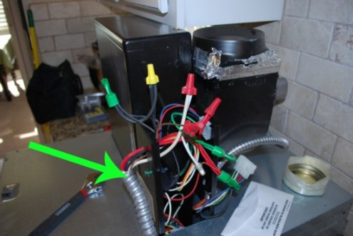 Oven Wiring During Install