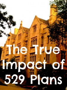 True Impact of 529 Plans on College