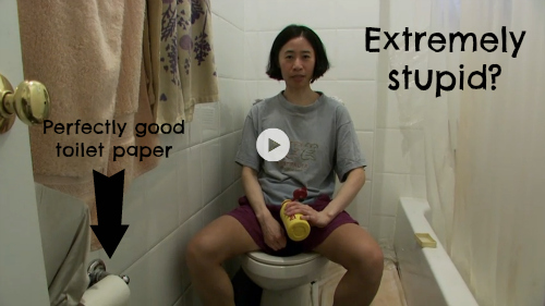 Extreme Cheapskates Toilet Paper
