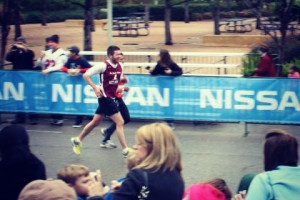 Sam Lustgarten Running Race