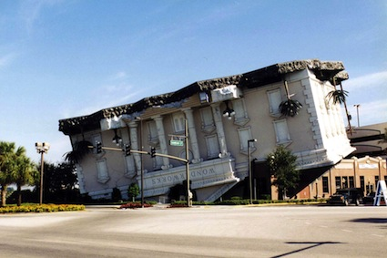 upside-house