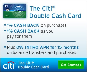 Citi Double Cash Box Banner