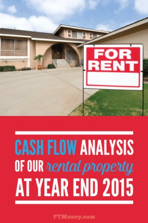 The Cash Flow Analysis for Our Rental Property at Year End 2015