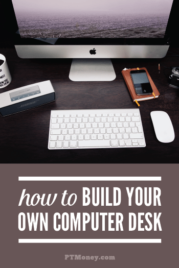 Take a look at PT's DIY computer desk. He gives a complete break down of costs and steps to build your own. Save lots of money in the process and have a one of a kind desk when you finished.