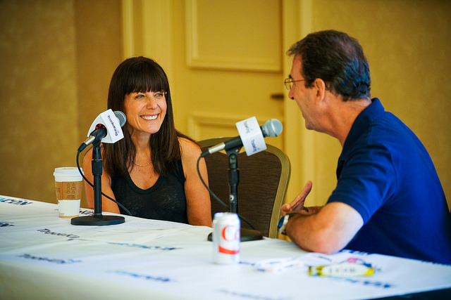 Jean Chatzky and Clark Howard at FinCon