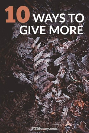 How to Give More