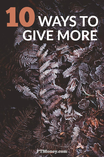 If you're not a natural giver and stink at giving like me, here are some ideas to help put you in front of more charitable giving opportunities and loosen your purse strings.