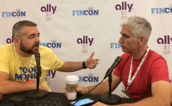PT and Rob Berger at FinCon Master of Money Podcast