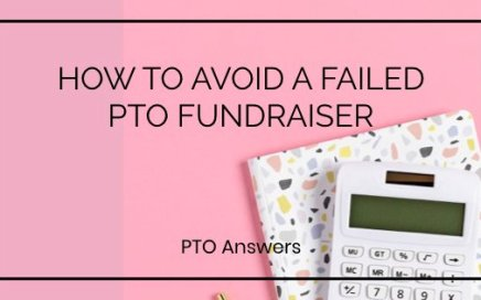 how to avoid a failed pro fundraiser on pink background with calculator and styled desk