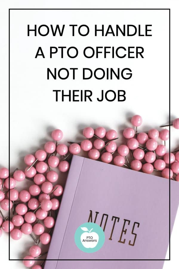 What To Do When a PTO Officer Doesn't Do their Job