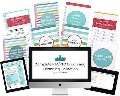 Complete PTA PTO Organizing and Planning Collection