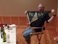Secretary Steve Scharf shows his PTSA spirit