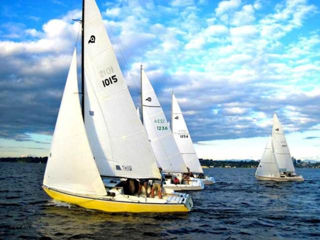 Thunderbird Northwest Regional Regatta, August 30 & 31, Port Townsend.